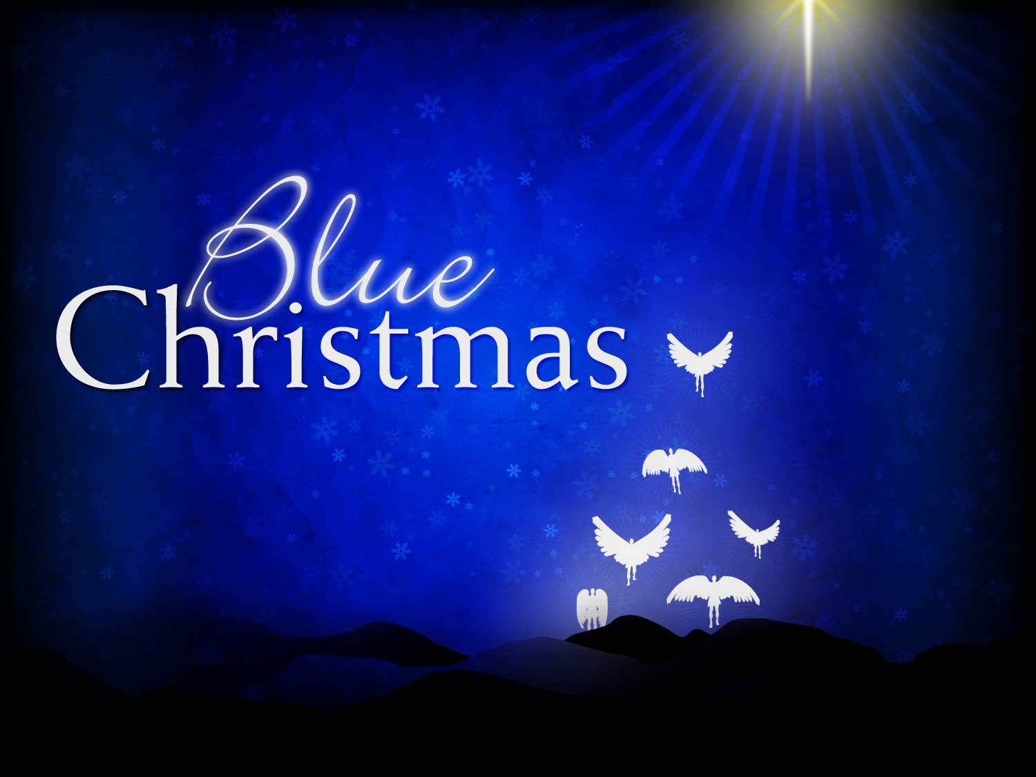 Blue christmas here s the thing…